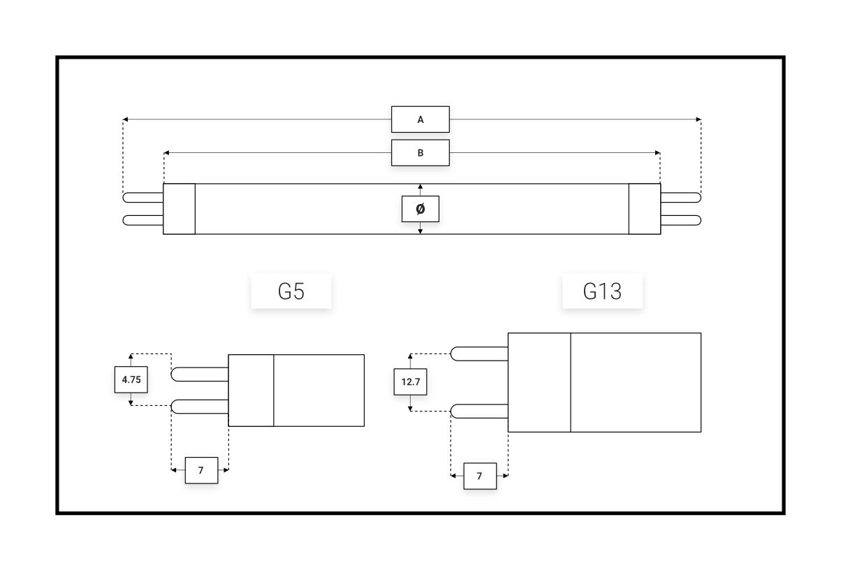 dimensions-uv-tubes